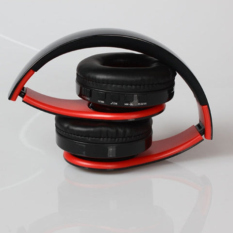 Image of Wireless Headphones Bluetooth For Pc And Phone Music - Reddish Black - Gadgets