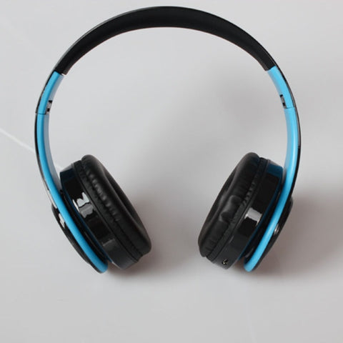 Image of Wireless Headphones Bluetooth For Pc And Phone Music - Blue Black - Gadgets