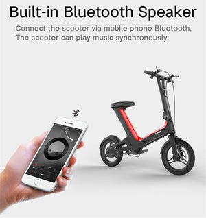Daibot - Electric Scooters With APP Bluetooth Speaker - 2 models