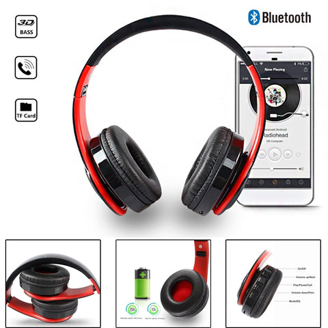 Image of Wireless Headphones Bluetooth For Pc And Phone Music - Gadgets