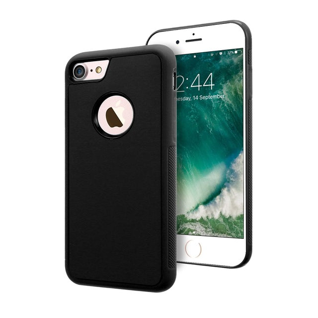 Anti Gravity Case For Iphone And Samsung - Black / For Iphone 6 6S - Cellphone