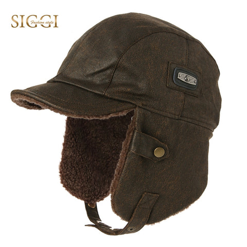 Image of Winter Unisex Bomber Hat - Waterproof Trapper Hunting Hat - Fashionmen