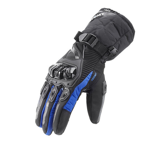 Image of Winter Motorcycle Gloves - Gloves For Men/women - Blue / M - Fashionmen