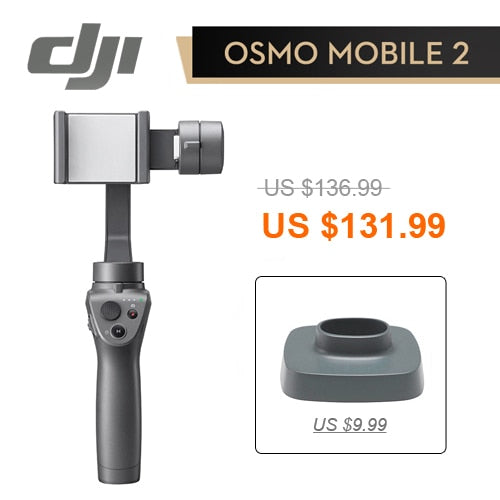 Dji Osmo Mobile 2 Stabilisateur 3-Axis - Chine / Mobile 2 And Base - Appareil photo