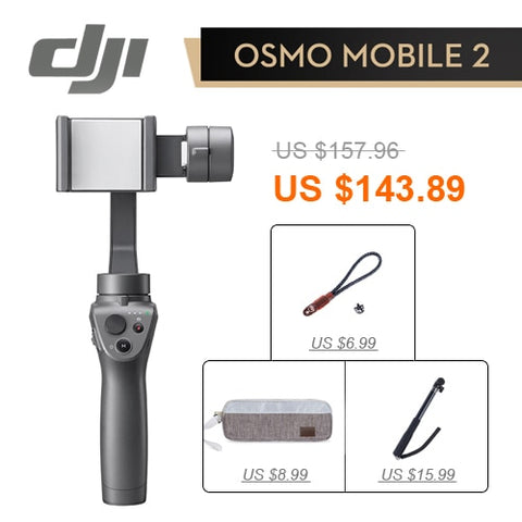 Image du stabilisateur 2 Dji Osmo Mobile 3-Axis - Chine / Baguette pour sac - Appareil photo