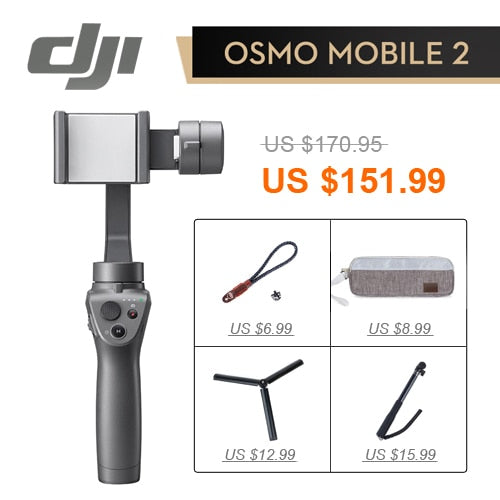 Dji Osmo Mobile 2 Stabilisateur 3-Axis - Chine / 4 In 1 - Appareil photo