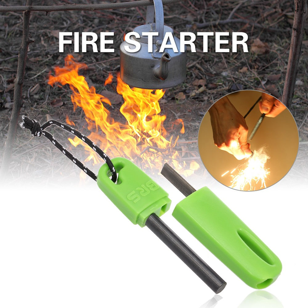 Fire Starter Firesteel For Campers - Gadgets