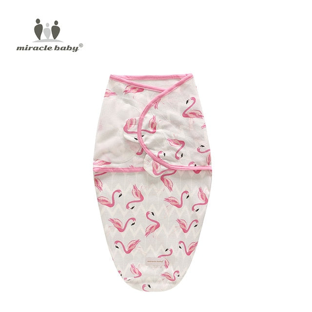Baby Swaddle Blanket - Flamingos S - Gadgets