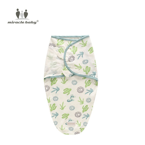 Image of Baby Swaddle Blanket - Cactus L - Gadgets