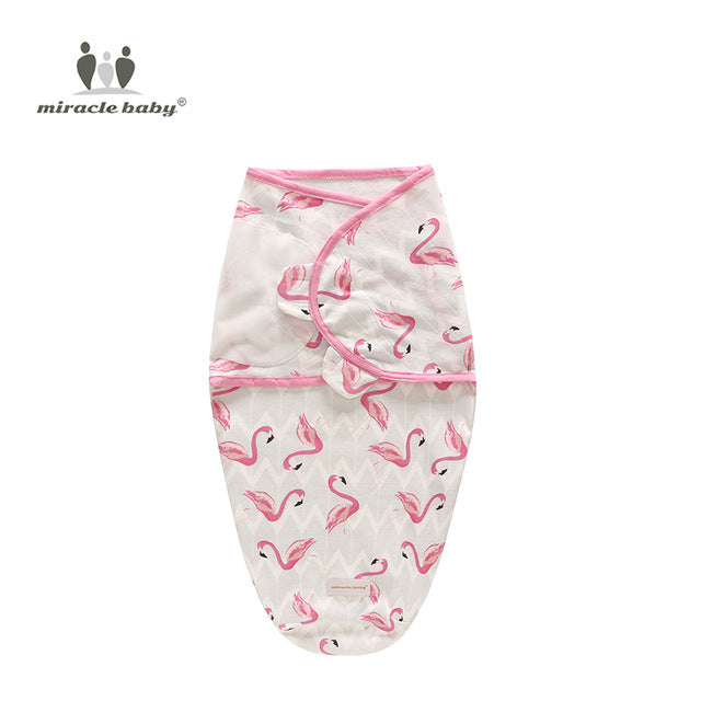 Baby Swaddle Blanket - Flamingos L - Gadgets