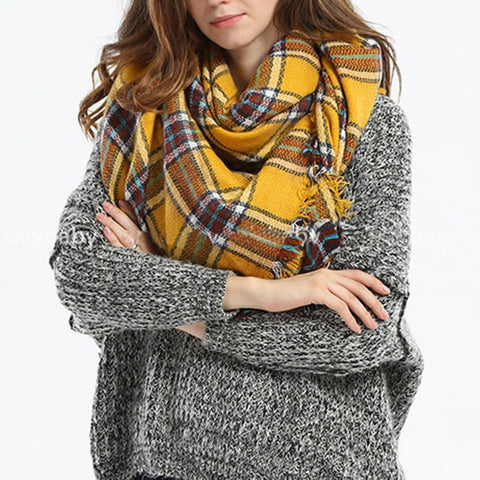 Image of cashmere scarf women