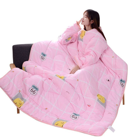 Winter Lazy Warm Blankets - A / China - Lazyquilt
