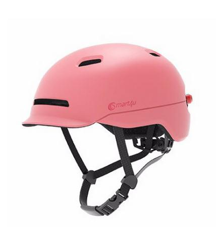 Helmet For Electric Scooter With Back Lights - Red M - Scooter