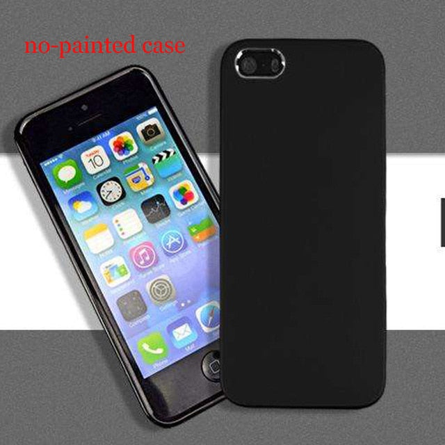 Cell Phone Case For Apple Iphone X 8 7 6 6S Plus 5 5S Se 5C - For Iphone Se - Cellphone