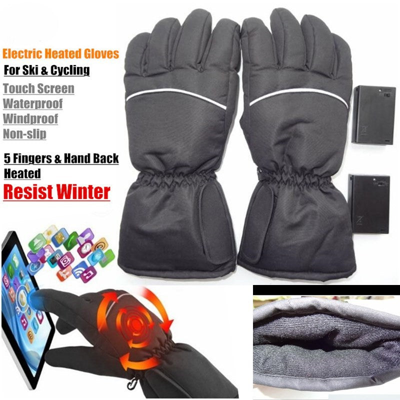 Electric Heating Winter Gloves For Men & Women Keep Warm Gloves - Gadgets