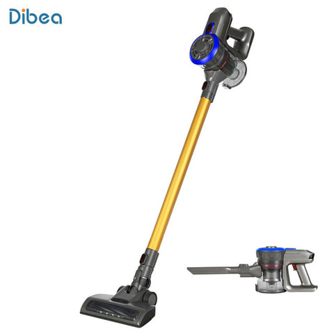 Image of Dibea D18 2 In 1 Handheld Cordless Vacuum Cleaner Cyclone Filter 120W 8500 Pa Strong Suction Dust Collector Household Aspirator