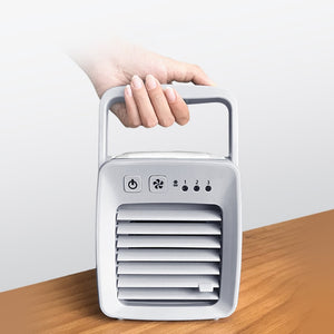 USB Air Cooler and Portable Desk Fan for Home/Office