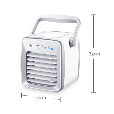 Image of USB Air Cooler and Portable Desk Fan for Home/Office