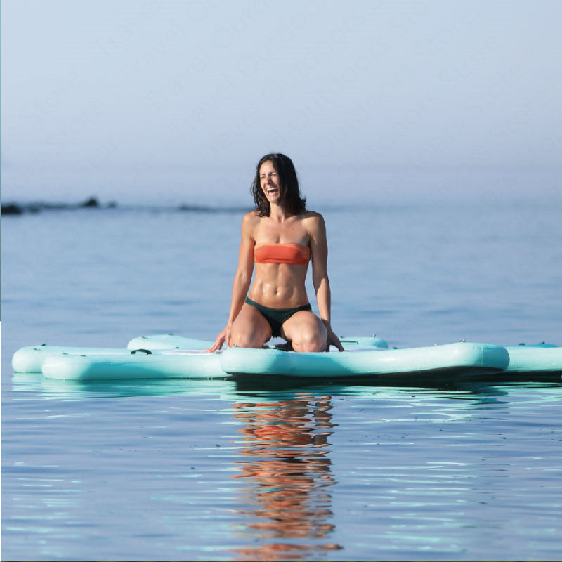 AQUA MARINA Yoga-Dock Sup Board DHYANA Yoga Surfboard Stand Up Paddleboard Aquatic Yoga Sports Board Platform 290cm