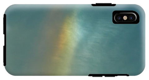 Image of Rainbow In #montreal - Phone Case - Iphone Xs Tough Case - Phone Case