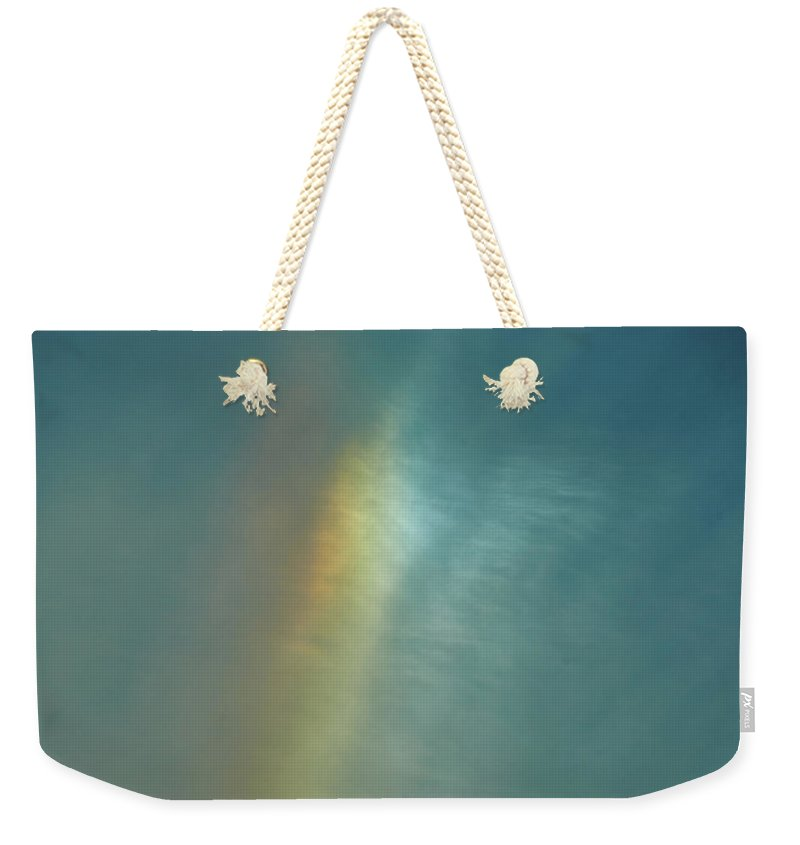 Rainbow In #montreal - Sac fourre-tout Weekender - 24 X 16 / Natural - Sac fourre-tout Weekender