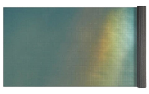 Image of Rainbow In #montreal - Yoga Mat