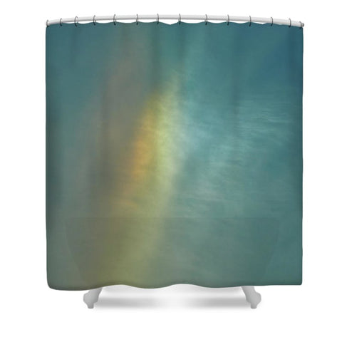 Rainbow In #montreal - Shower Curtain
