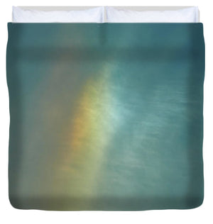 Rainbow In #montreal - Duvet Cover