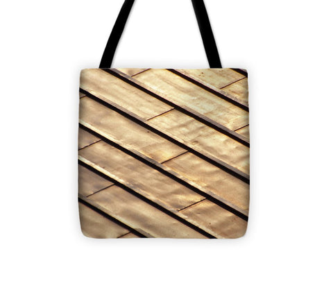Image of Rayures Sur Le Toit - Tote Bag
