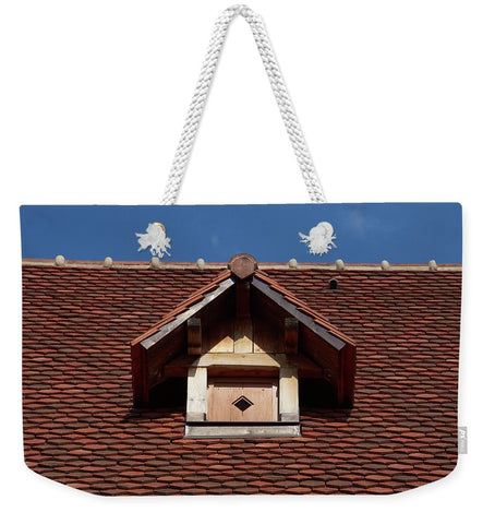 Image of Roof In - Sac fourre-tout Weekender - 24 X 16 / Blanc - Sac fourre-tout Weekender