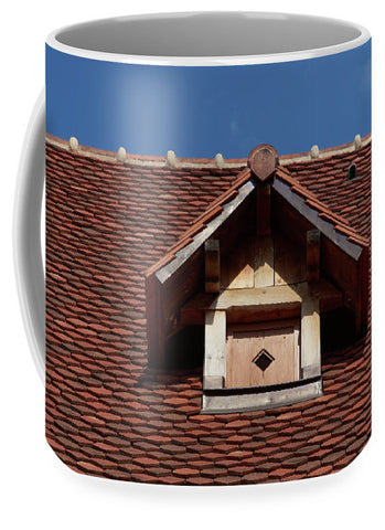 Image of Roof In #france - Mug - Large (15 Oz.) - Mugs