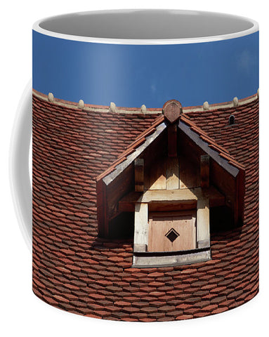 Image of Roof In #france - Mug - Small (11 Oz.) - Mugs