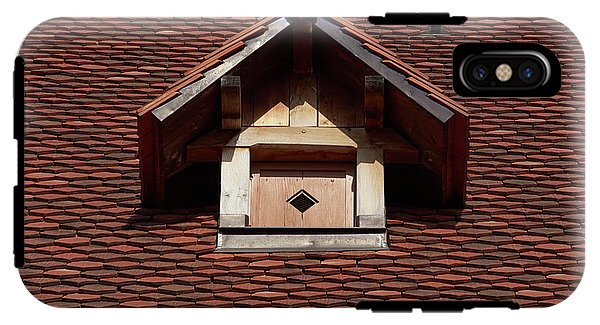 Roof In #france - Phone Case - Iphone X Tough Case - Phone Case