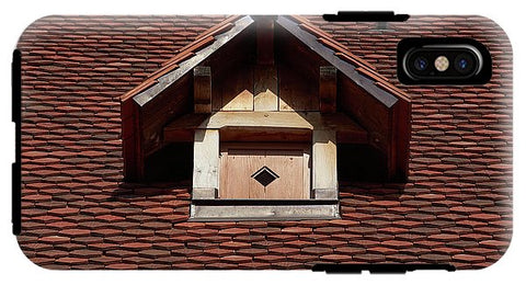 Image of Roof In #france - Phone Case - Iphone X Tough Case - Phone Case