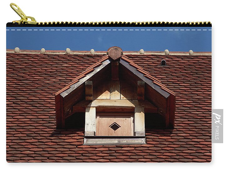 Roof In #france - Carry-All Pouch - Small (6 X 4) - Carry-All Pouch