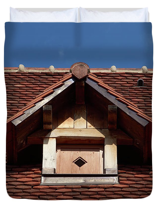 Roof In #france - Duvet Cover - Queen - Duvet Cover