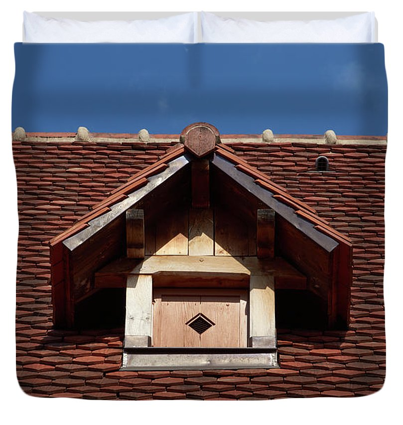 Roof In #france - Duvet Cover - King - Duvet Cover
