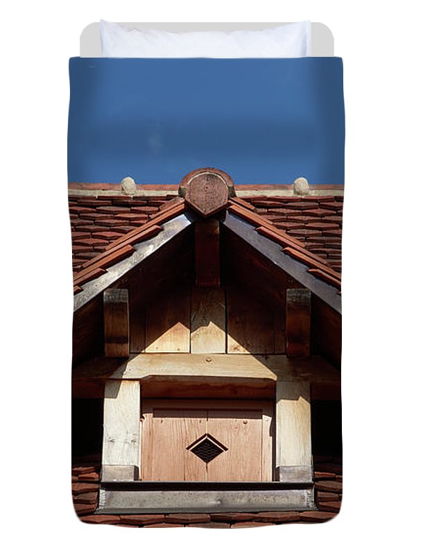 Roof In #france - Duvet Cover - Twin - Duvet Cover
