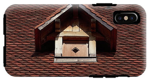 Image of Roof In #france - Phone Case - Iphone Xs Tough Case - Phone Case