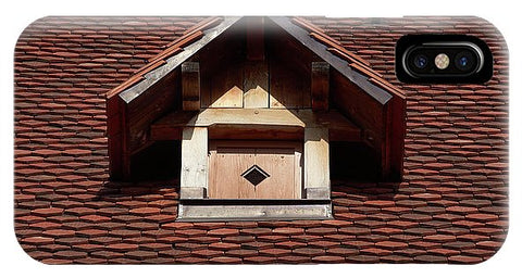 Image of Roof In #france - Phone Case - Iphone Xs Case - Phone Case