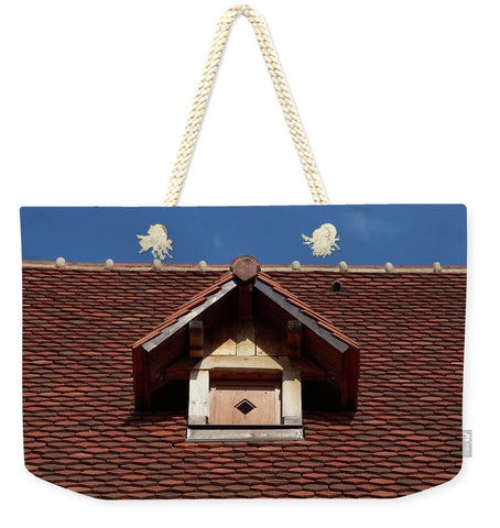 Image of Roof In - Sac fourre-tout Weekender - 24 X 16 / Natural - Sac fourre-tout Weekender