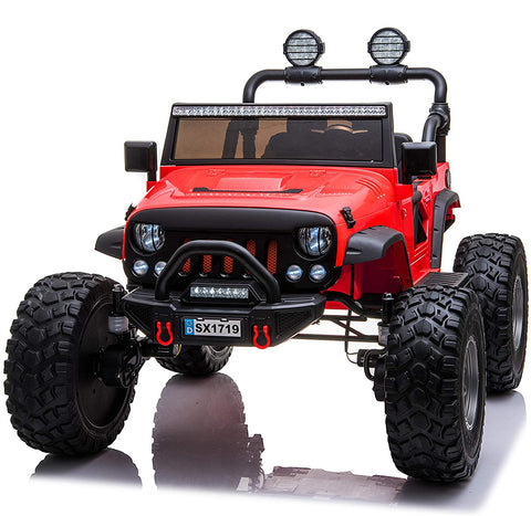 Monster Jeep 2 seaters - Ride on cars for kids