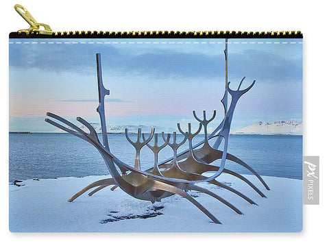Image of Solar Voyager In Iceland - Carry-All Pouch - Small (6 X 4) - Carry-All Pouch