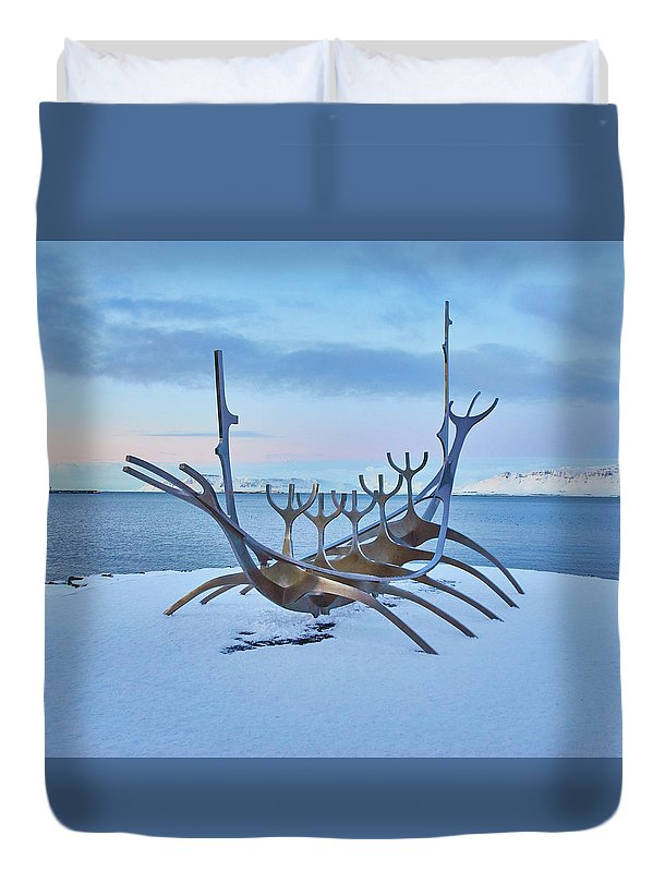 Solar Voyager In Iceland - Duvet Cover - Full - Duvet Cover