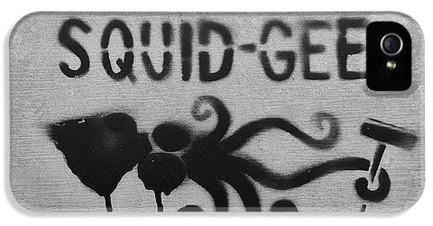 Image of Squidg-Gee Funny - Phone Case - Iphone 5S Case - Phone Case