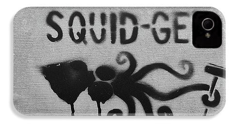 Image of Squidg-Gee Funny - Phone Case - Iphone 4S Case - Phone Case