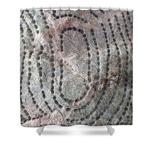 Strange Stone - Shower Curtain