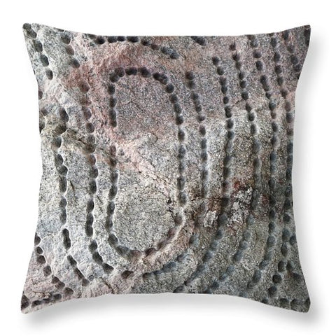 Strange Stone - Throw Pillow