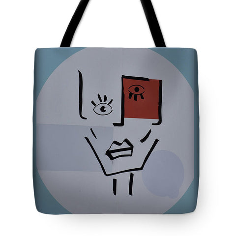 Image of Strange Woman - Tote Bag - 18 X 18 - Tote Bag