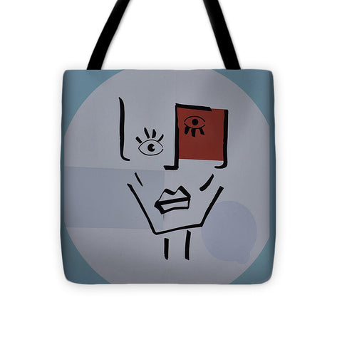 Image of Strange Woman - Tote Bag - 16 X 16 - Tote Bag